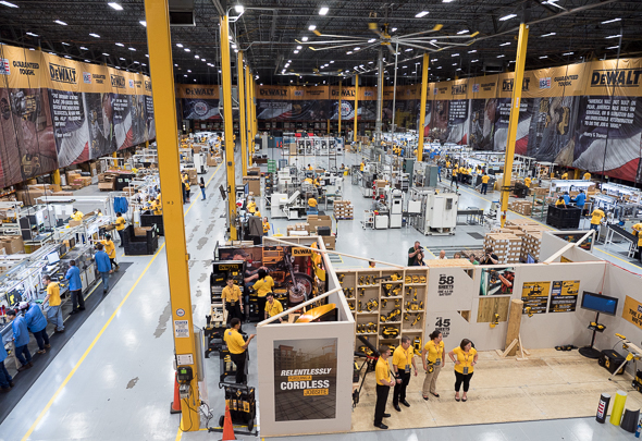 Dewalt Charlotte USA Factory Floor