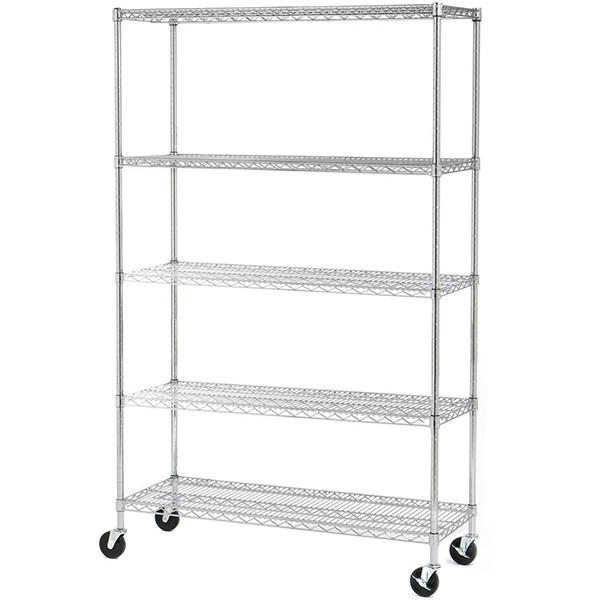 Seville 5 Shelf Wire Storage System