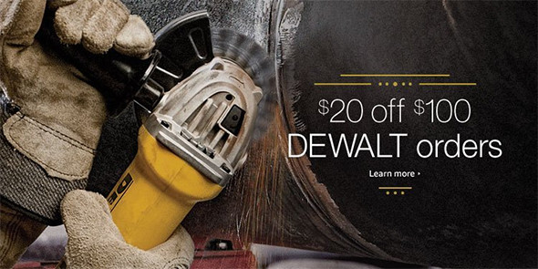 Dewalt 20 off 100 Fathers Day 2016 Deal
