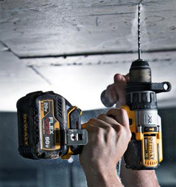 Dewalt FlexVolt Battery with Drill
