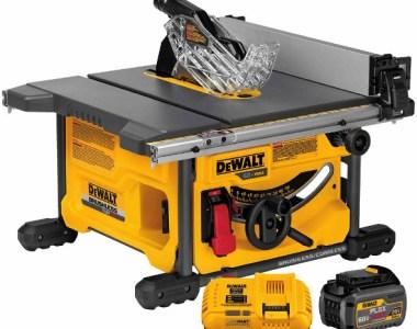 Dewalt FlexVolt DCS7485T1 60V table saw