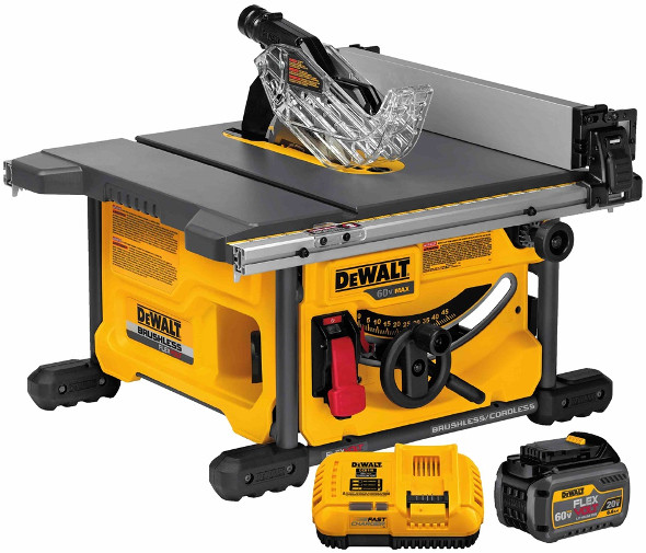 Dewalt FlexVolt DCS7485T1 60V table saw
