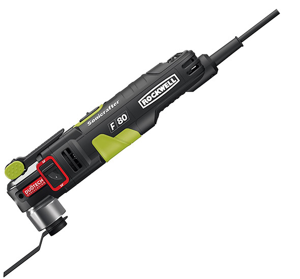 Rockwell F80 Duotech Sonicrafter Oscillating Multi-Tool