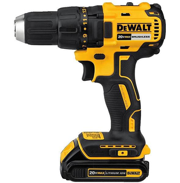 dewalt 20v max brushless drill kit for 119
