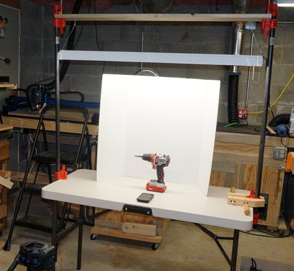led-light-test-setup