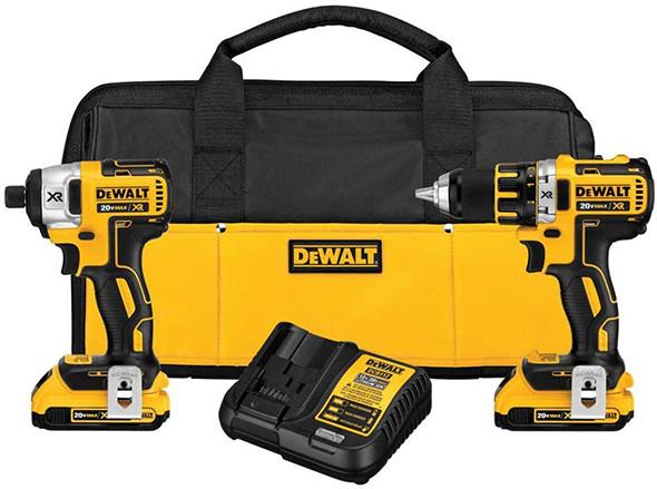 hot deal dewalt 20v max brushless drill u0026 impact combo