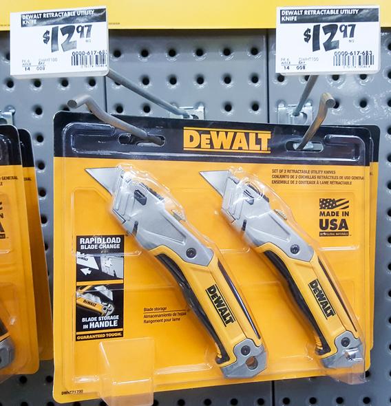 home-depot-black-friday-2016-tool-deals-dewalt-utility-knife-2-pack
