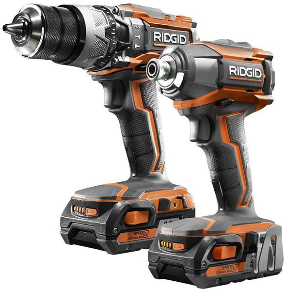 ridgid-r9624-18v-drill-and-imapct-driver-combo-kit
