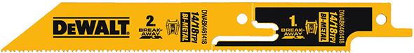 Dewalt DWABK461418 Break-Away Reciprocating Saw Blade