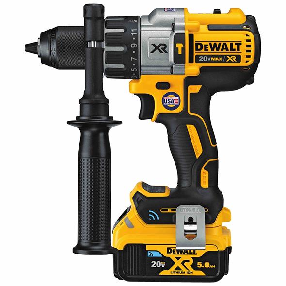 Dewalt Tool Connect Premium Brushless Hammer Drill Kit DCD997P2BT