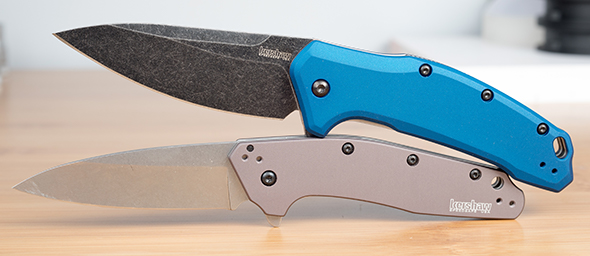 Kershaw Link and Dividend Knives Made in USA