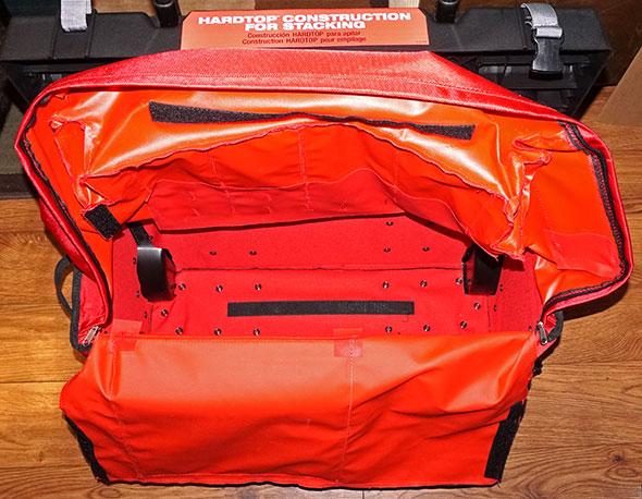 Milwaukee 24 inch hardtop rolling bag secret compartment