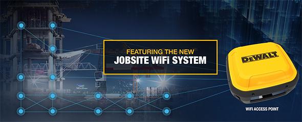 Dewalt Jobsite WiFi System