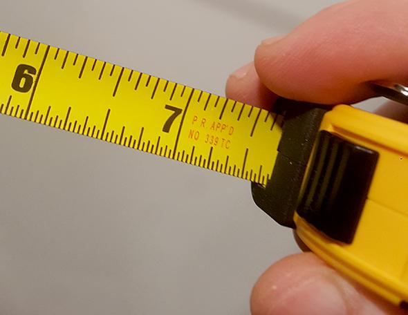 Dewalt Pocket Tape Measure Markings