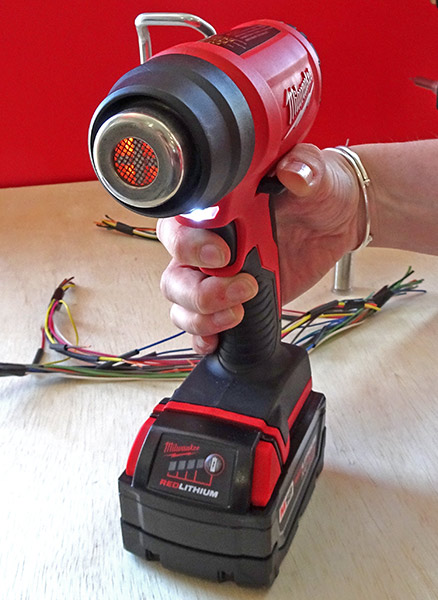 Looking down the Barrel of the Milwaukee M18 Heat Gun