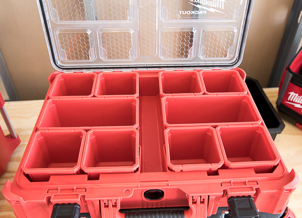 Milwaukee Packout Tool Storage Large Organizer Inner Compartments