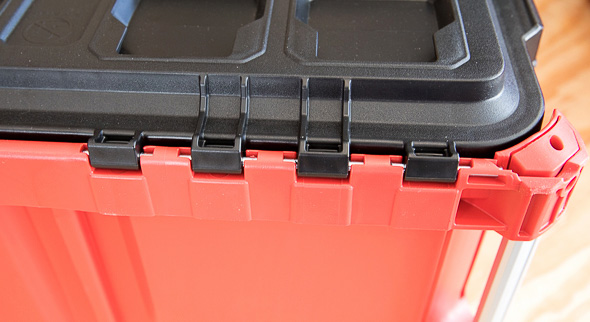 Milwaukee Packout Tool Storage Rear Hinges
