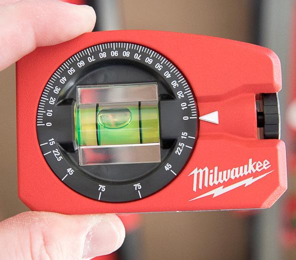 Milwaukee Pocket Level with Adjustable Angle Close to Zero