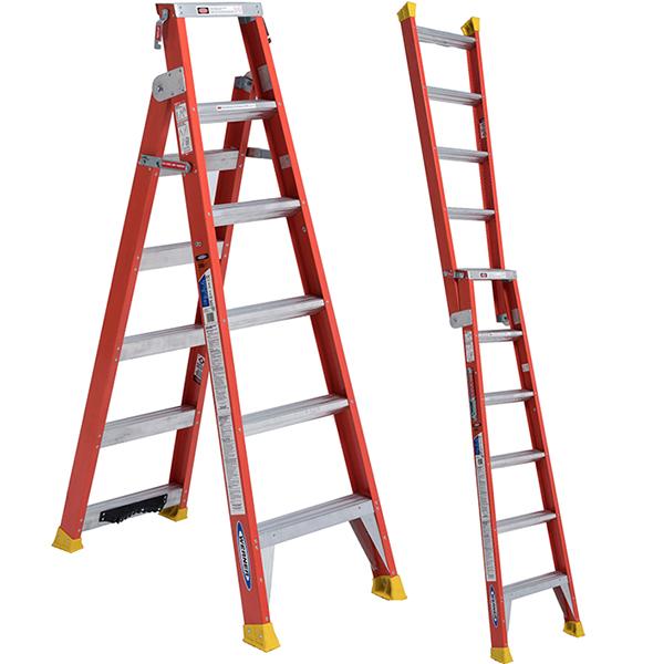 Werner Dual Purpose 2-in-1 Ladder