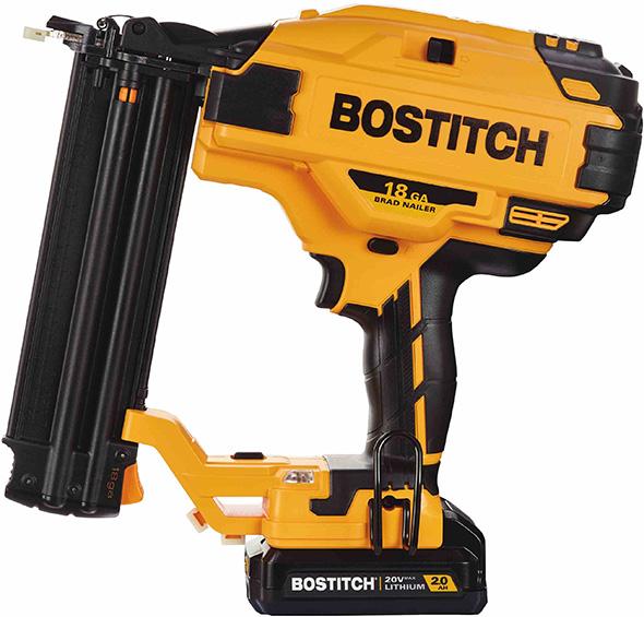 new bostitch 20v max brushless cordless nailers