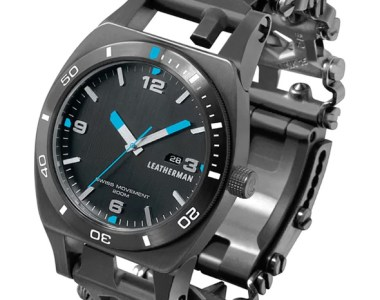 Leatherman Tread Tempo Multi-Tool Watch in Black