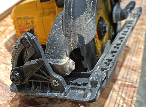 Dewalt Flexvolt Framing Saw Bevel Adjustment