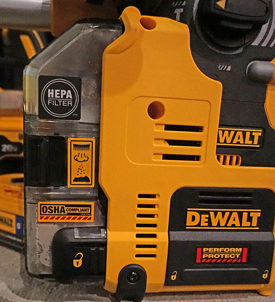 Dewalt HEPA Dust Filter Box