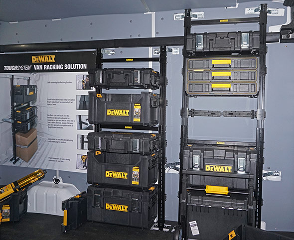 Dewalt Tough System Van Racking