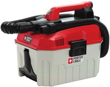 Porter Cable PCC795B 20V Max Wet Dry Cordless Vacuum