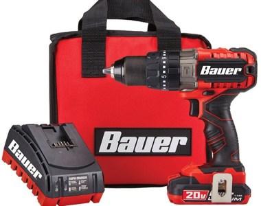 Bauer Cordless Drill Kit