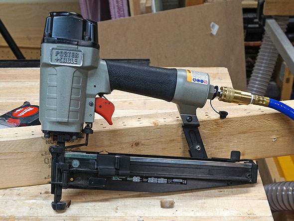 Dewalt Cordless Compressor Testing Setup