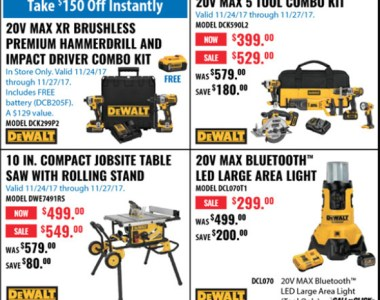 Acme Tools Black Friday 2017 Tool Deals Page 1B