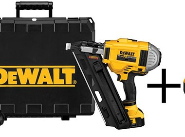 Dewalt Cordless Framing Nailer Kit with Bonus Battery