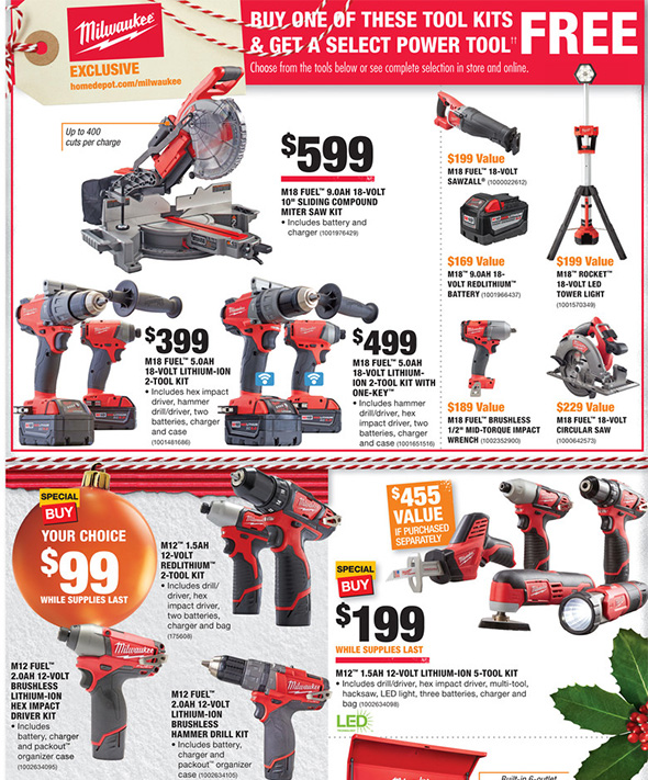 Home Depot Black Friday 2017 Tool Deals Ad Page 5