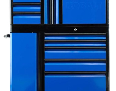 Kobalt 3000 series 45-inch Black and Blue Tool Storage Combo