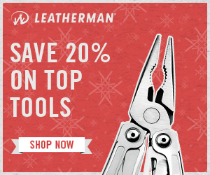 Leatherman Black Friday 2017 20 Percent Select Tools Deal