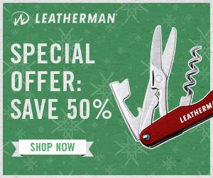 Leatherman Black Friday 2017 50 Percent Deal