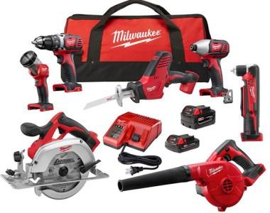Milwaukee 2695-27C M18 7-Tool Cordless Combo Kit