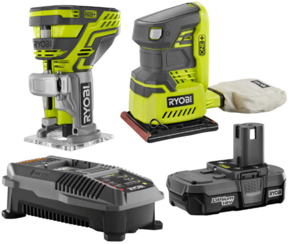 Ryobi Special Buy Router and Sander Combo Kit