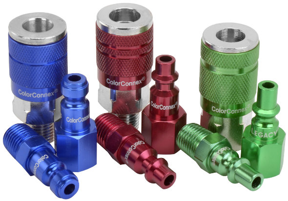 ColorConnex air line connectors