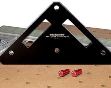 Woodpeckers MFT Square Setup Tool with Pegs