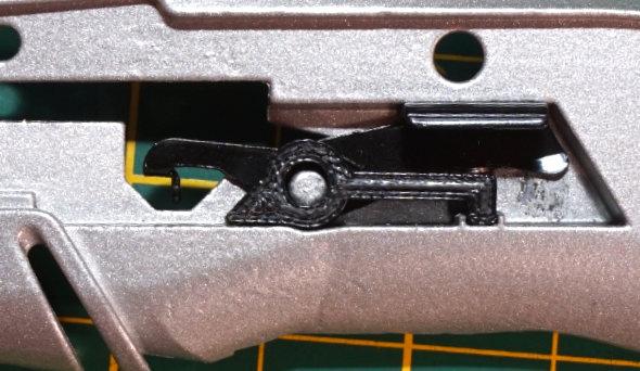 3d printed blade lever retainer for Dewalt utilty knife