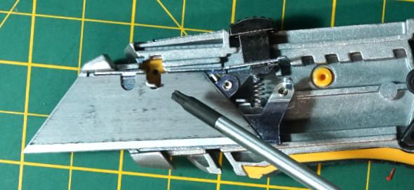 Dewalt Utility Knife Blade Change Lever 4