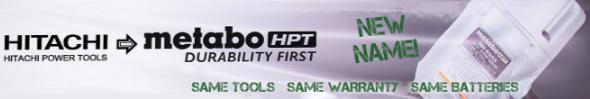 Hitachi Metabo HPT Dual Label Packaging