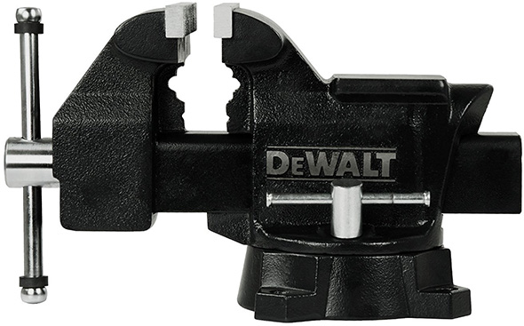 Dewalt 5-inch Bench Vise Side