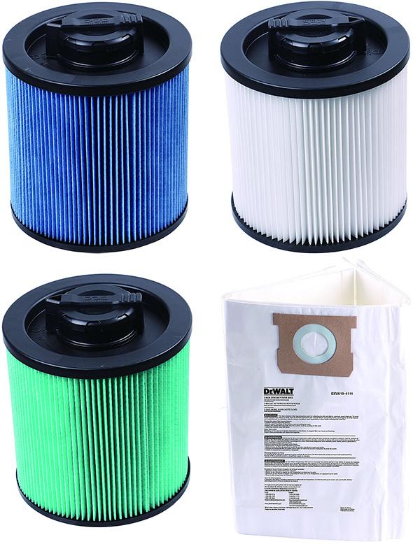 Dewalt Shop Vacuum Filter Options