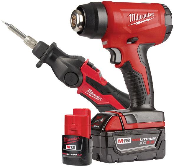 Milwaukee Heat Gun and Soldering Iron Kit 2688-21K