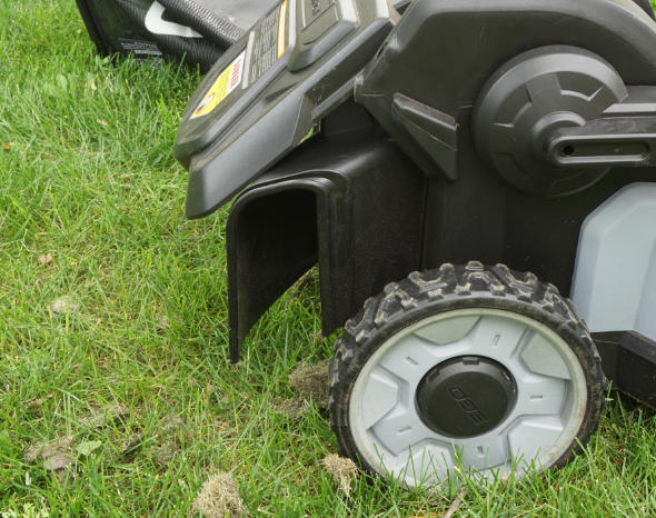Ego 21inch mower side discharge chute