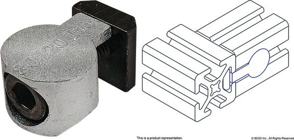 8020 Anchor Fastener Example