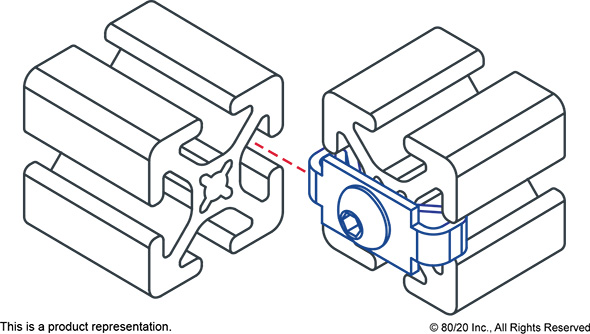 8020 End Fastener 10 Series Application Example